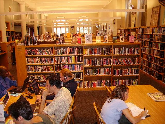 Biblioteca de New York  Manhattan USA.