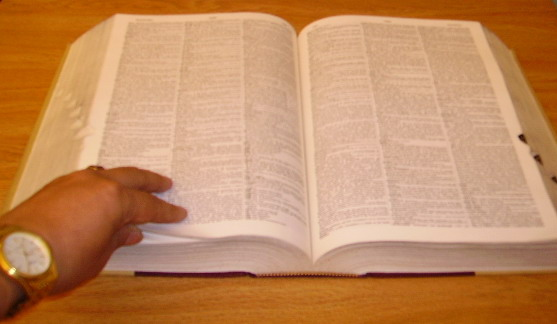 Compulsando el Diccionario de Términos Jurídicos con los cuerpos legales vigentes en el  Ecuador.