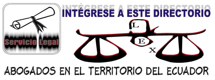 Abogados en el territorio del ecuador